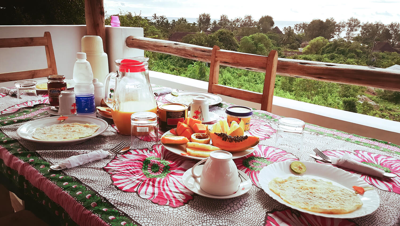 Appartamenti colazione inclusa Maisha Marefu Kiwengwa Zanzibar Africa