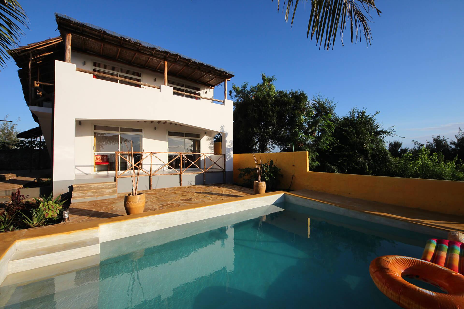 Appartamenti con piscina 4 Maisha Marefu a Kiwengwa Zanzibar