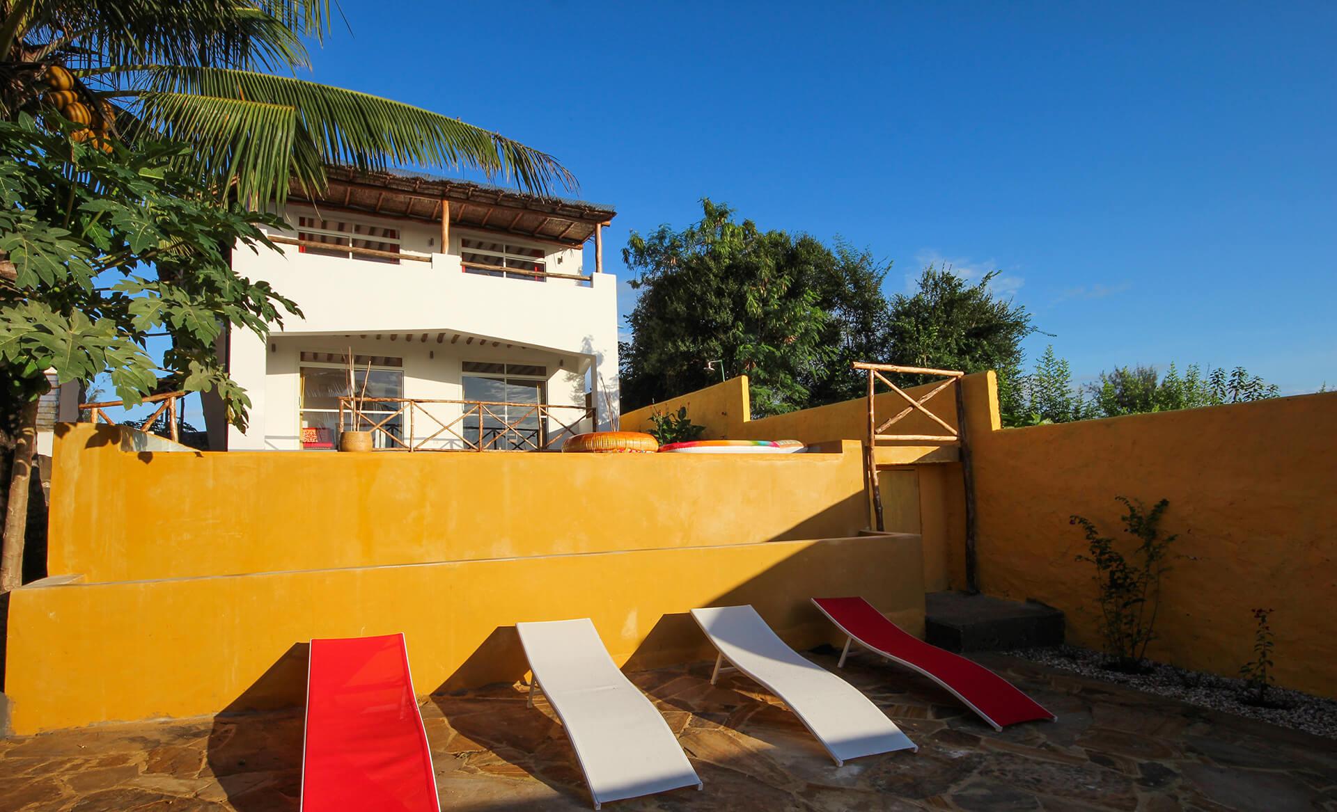 Appartamenti con piscina Maisha pool e view a Kiwengwa Zanzibar