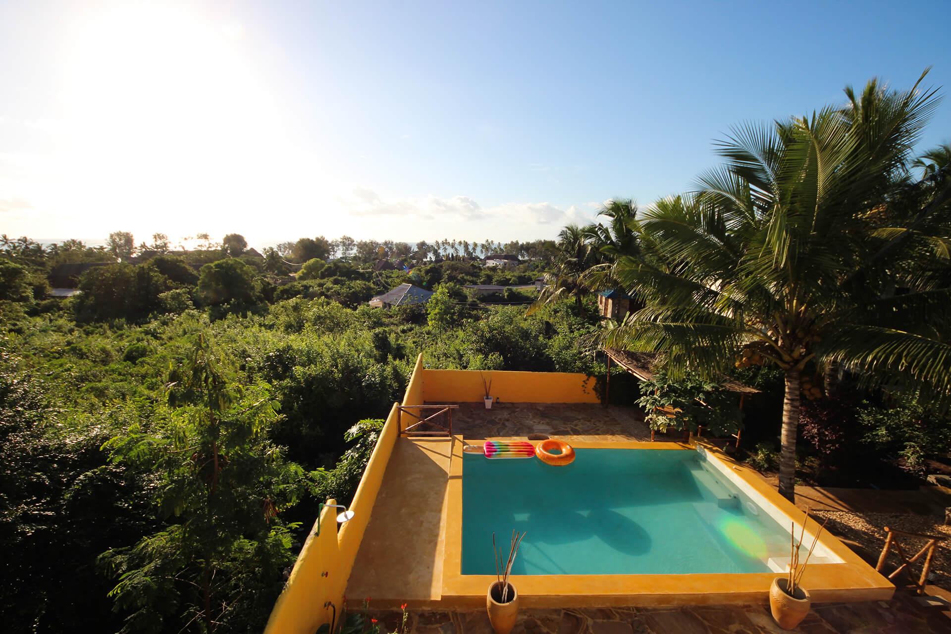 Appartamenti piscina Maisha Marefu a Kiwengwa Zanzibar