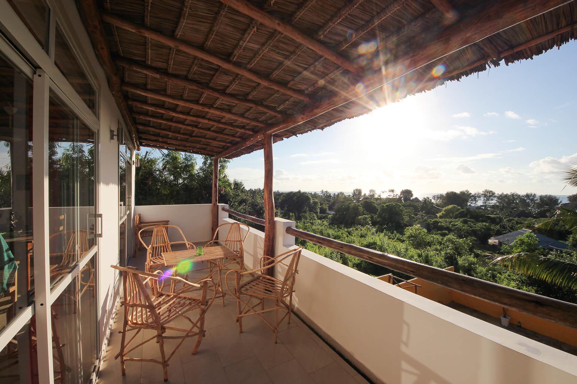 Appartamento Maisha view terrazzo a Kiwengwa Zanzibar