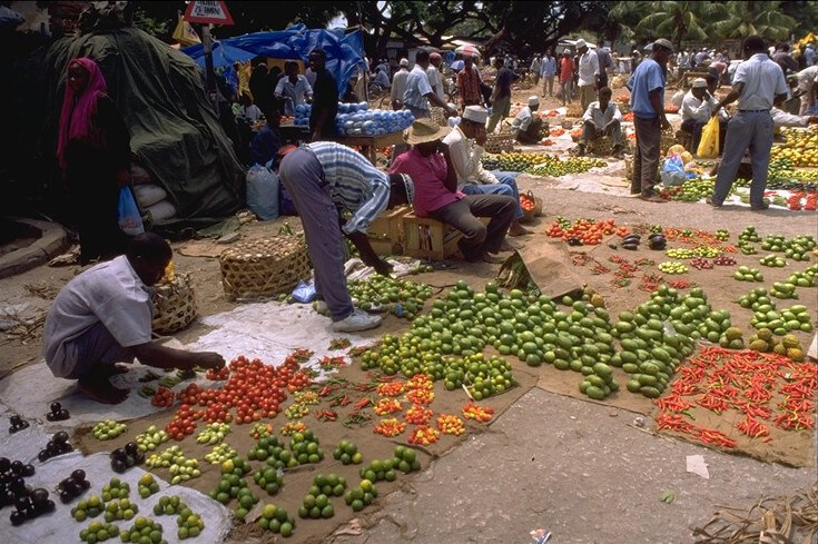 mercato di zanzibar