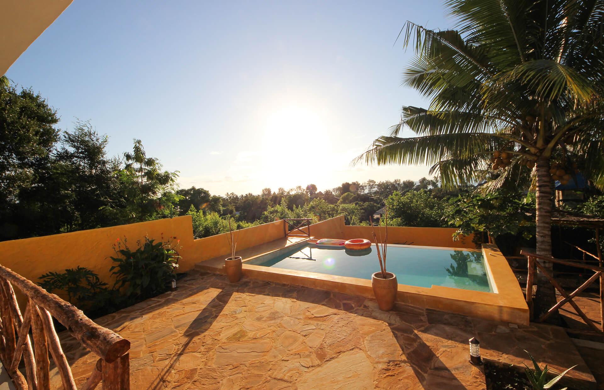 piscina per le tue vacanze a zanzibar